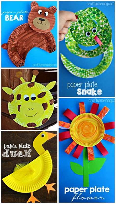 creative paper crafts creative paper plate crafts for to make creative