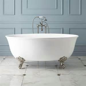 How To Clean Acrylic Bathtubs Watters Acrylic Clawfoot Tub Imperial Feet