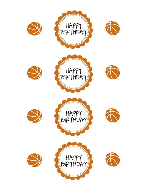 free printable basketball birthday decorations basketball party printable pack sportsmomsurvivalguide com