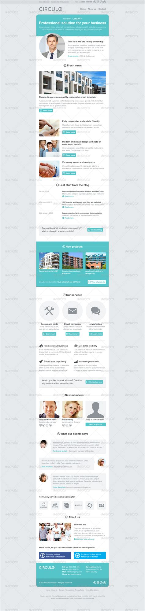 circulo psd email template by aditivadesign graphicriver
