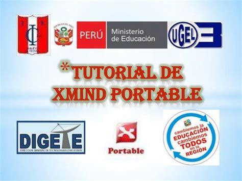 tutorial de xmind en español manual del software xmind portable
