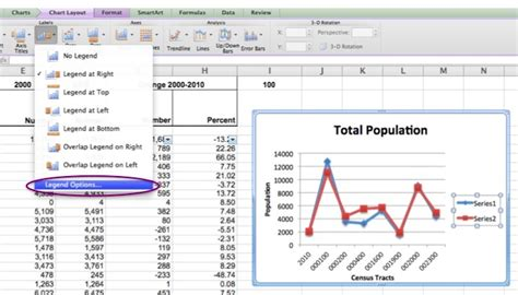 format excel legend formatting the chart legend mac erc