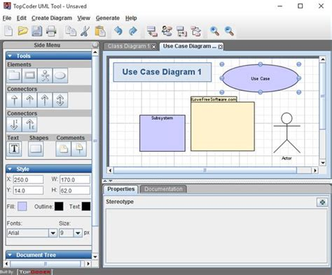 software uml diagram 5 free uml design software for windows 10