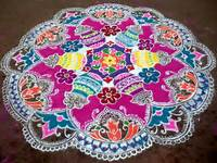 South Rangoli Designs