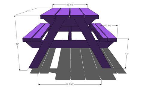 build  bigger kids picnic table plans ana white