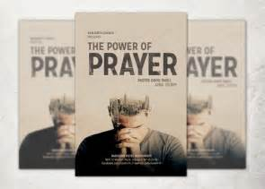 The Power Of Prayer Church Flyer Flyer Templates On Prayer Flyer Template