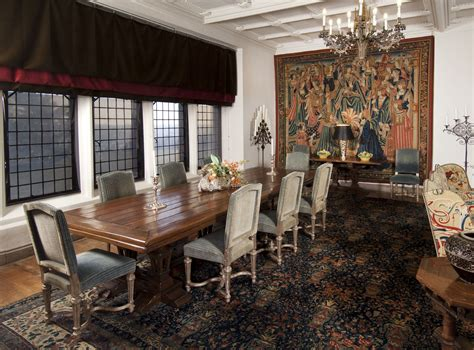 dining room  rough point  significantly altered