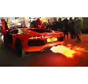 Lamborghini Aventador FLAMETHROWER  In London YouTube