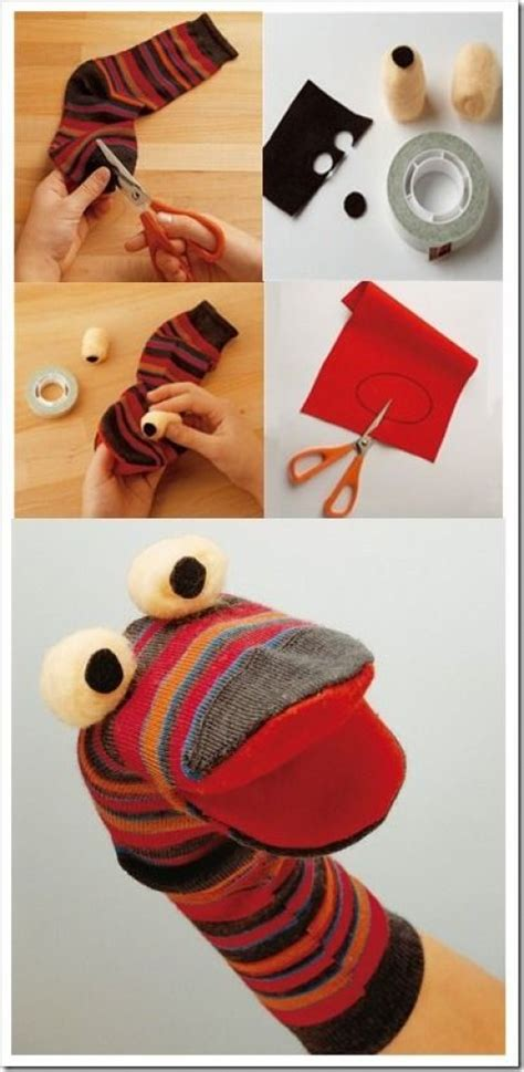 diy sock puppets 27 diy sock toys how to make sock animal puppets for