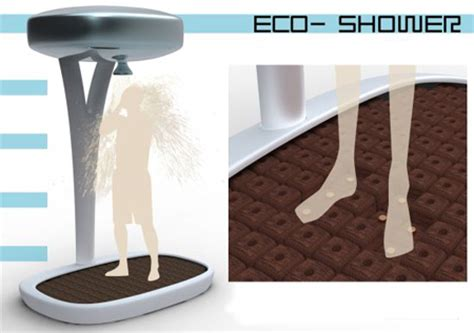 Eco Shower by Eco Shower By Paul Frigout Green Design