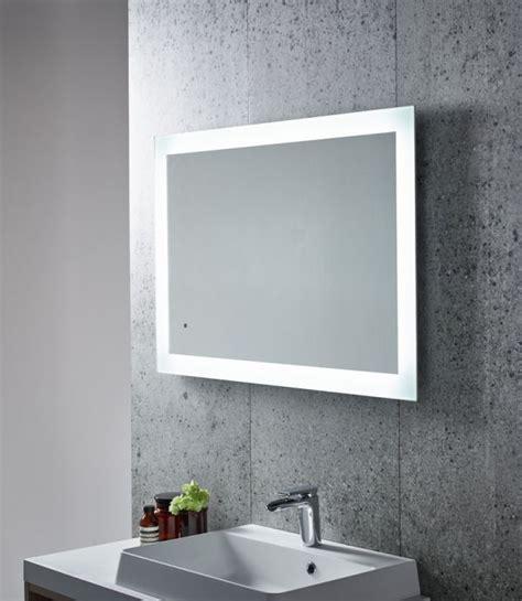 Appear Led Backlit Illuminated Mirror Tavistock Bathrooms Led Backlit Bathroom Mirror