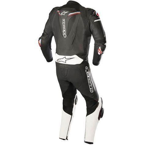 Atem V3 Leather Jacket alpinestars atem 1 v3 leather motorcycle suit track sports racing armoured ebay