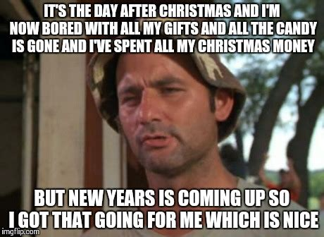 Day After Christmas Meme - pretty much everyone on the day after christmas be like