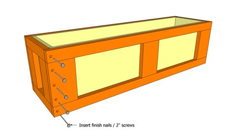 window planter box plans window flower box plans free outdoor plans diy shed wooden playhouse bbq woodworking projects