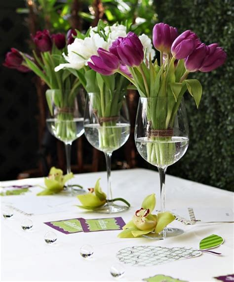wine glass centerpieces for weddings floral wine glass wedding centerpieces budget brides guide a wedding