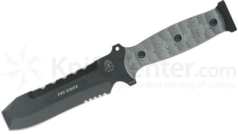 tops pry bar tops knives pry knife and ppp tool tpk 001 knifecenter