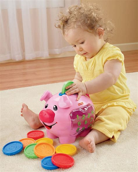 fisher price laugh learn learning piggy