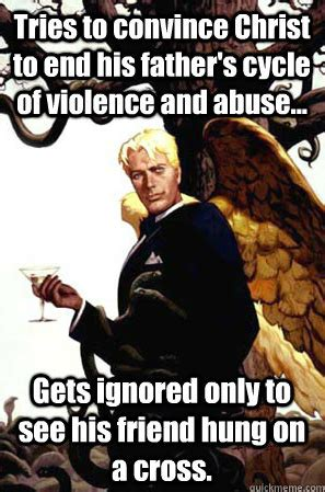 Lucifer Meme - does satan get a bad rap boards ie