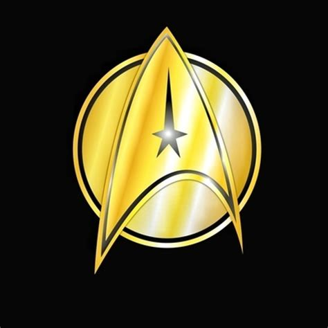printable star trek logo star trek logo art print geekery pinterest