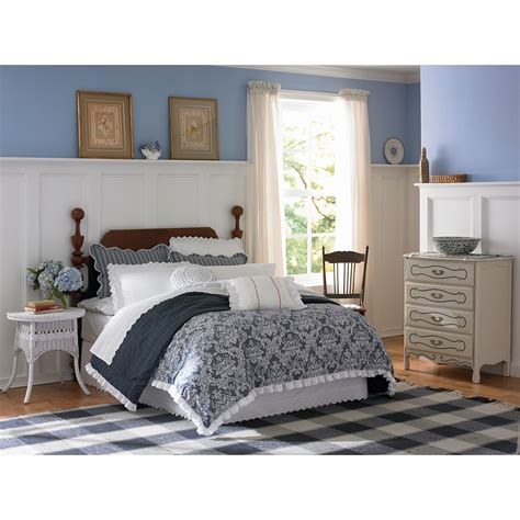 Country Living Porcelain Blossom Comforter Set Home Country Living Bedding Sets