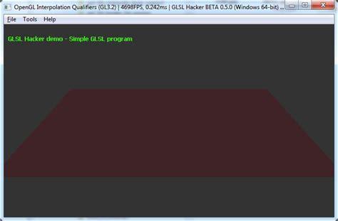 glsl layout qualifier version opengl interpolation qualifiers glsl geeks3d