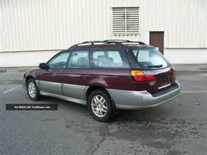 2001 Subaru Outback Limited 2001 Subaru Outback Limited Wagon 4 Door 2 5l 5 Speed
