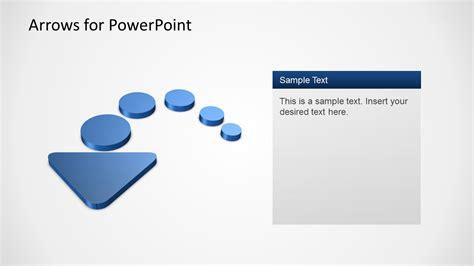 3d Arrows Powerpoint Template Slidemodel Arrows For Powerpoint Presentations