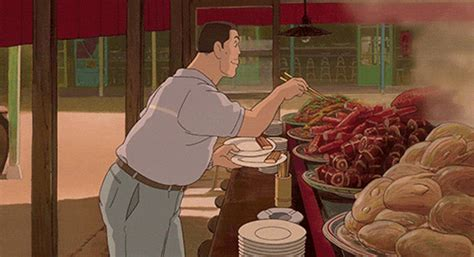anime film where parents turn into pigs studio ghibli food gifs will make you hungry kotaku