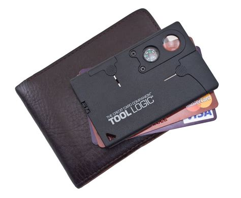 wallet tool card new tools sog specialty knives cc1sb credit card companion