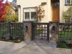 the best yet inexpensive front yard fence ideas fresh front yard wood fence with stone columns