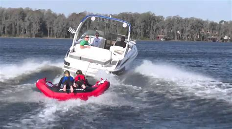 sea doo boat tubes tow tube tests 2013 sea doo evo pro 2 youtube