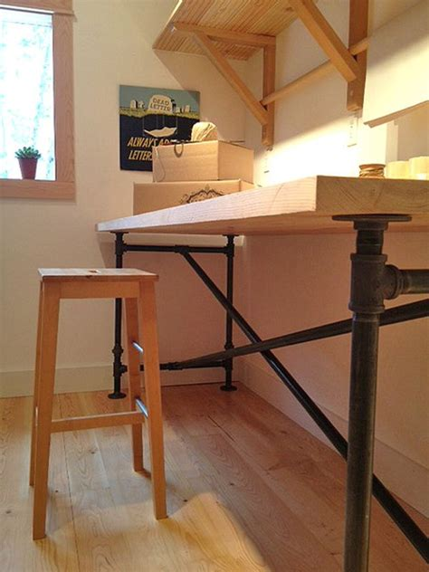 pipe desk diy 20 diy desks that really work for your home office