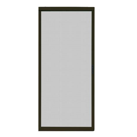 aluminum patio screen doors unique home designs 36 in x 80 in ultimate bronze metal