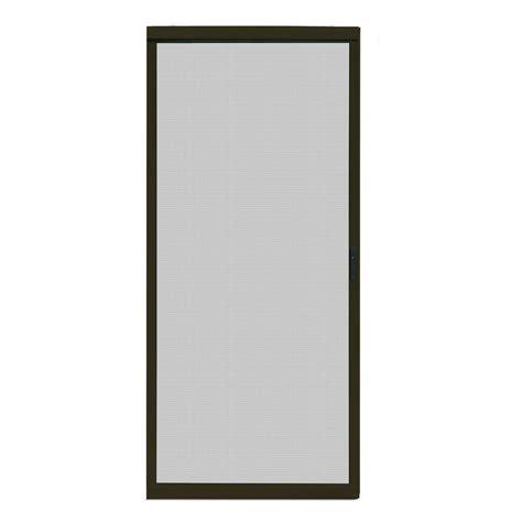 Unique Home Designs 36 in. x 80 in. Ultimate Bronze Metal