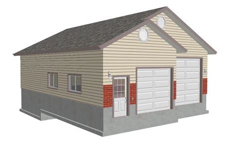 16 X 30 Garage Plans by Gor Knowing Free Storage Shed Plans 16x20