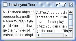 pattern java test using flowlayout flowlayout 171 swing 171 java tutorial