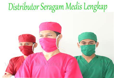 Jas Dokter Dua Saudara Laki Laki Lengan Panjang baju ok lengan panjang hijau tua istana medika
