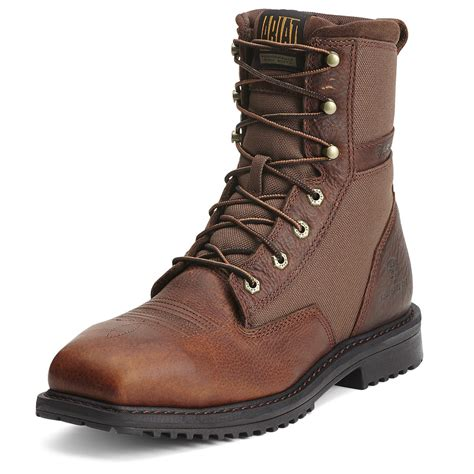 ariat work boot ariat rigtek 8 inch composite toe work boot 10012927