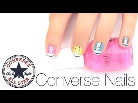 imagenes de uñas pintadas de tenis pintado de u 241 as converse youtube