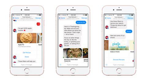 best chatbot food network messenger chatbot food network apps food
