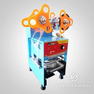 Ready Sealer Press Plastik Perekat Plastik Ks200 Murah Cup Sealer Murah Jual Mesin Press Gelas Garansi 1 Tahun