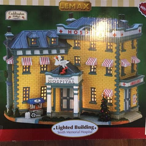 lemax christmas village hospital find more lemax light up hospital for sale at up to 90 airdrie ab