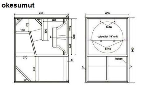 Speaker Ukuran 15 Inch 15 inch subwoofer speaker box plans eldonianews
