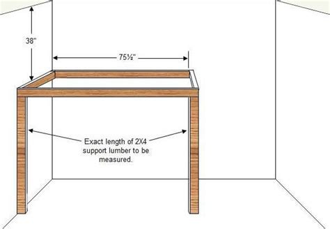 Build Loft Bed Frame How To Build A Budget Loft Bed Woodworking Plans Part 2