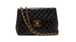 chanel quilted black bag
