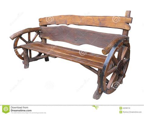 Handmade Wooden Garden Benches - wooden handmade garden bench with cart wheel decoration