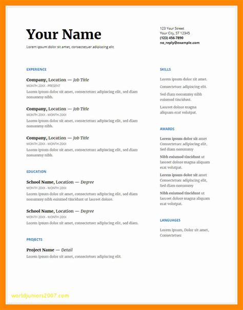 cv sles free south africa south cv template free images