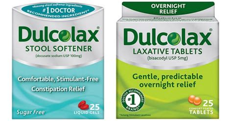 Dulcolax Stool Softener Walgreens by New Dulcolax Coupons Stool Softener Only 1 49 At