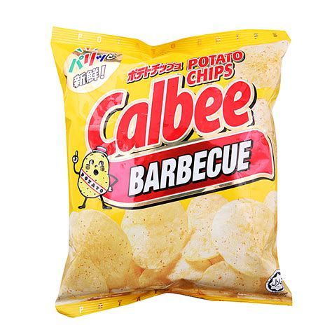 Calbee Crispy Potato calbee barbecue potato chips 80g from redmart