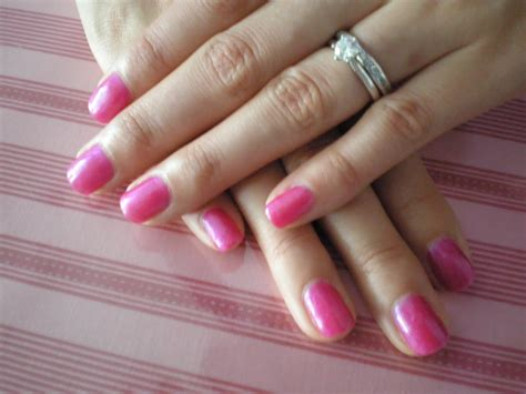 Gel Nail by Envious Nails Using The Odourless Soak Gel